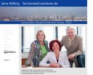 Bild Webseite Rechtsanwältin Jana Kölling Berlin