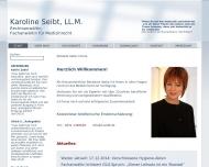 Bild Seibt, Karoline Rechtsanwältin