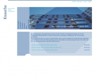 Bild Webseite Knauthe Rechtsanwälte Dresden