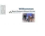Bild Webseite Freimann Klaus-Dieter Hannover