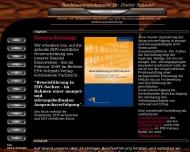 Website Schedel Dr. Dieter