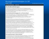 Bild Webseite Hainke Hamburg
