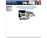 Website Jobst Jürgen
