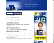 Bild Webseite Dr. Prinz, Neidhardt, Engelschall, Burz, Peters -Rechtsanwälte Hamburg