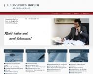 Bild Rechtsanwalt Hannfried Höfler