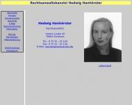 Rechsanwaltskanzlei Hedwig Hanh?rster, Konstanz Bodensee