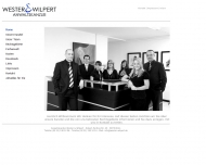 Website Wester u. Paukens