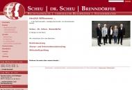 Website RECHTSANWÄLTE • VEREIDIGTER BUCHPRÜFER • STEUERBERATER SCHEU • WÖHRLE • BRENNDÖRFER