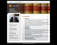 Website Jörg Lauber Rechtsanwalt