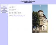 Bild Webseite Paetzold u. Collegen Rechtsanwälte Konstanz