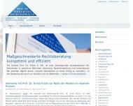 Bild Webseite Rechtsanwältin Stefanie Meier Nürnberg