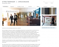 Bild Webseite Streitbörger, Gördes Bielefeld