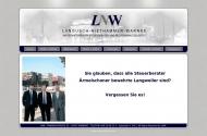 Bild Webseite LNW Langusch - Niethammer- Warnke Steuerberater Hamburg