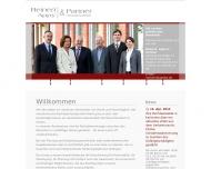 Bild Webseite Reinert Karlsruhe