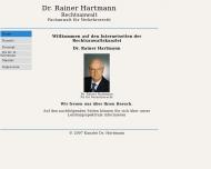 Bild Hartmann Dr. Rainer