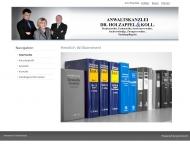 Website Holzapfel Helmut Dr. , Manuela Schrottenbaum, Robert Kainz