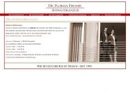 Bild Webseite Fischer Dr. Florian Düsseldorf