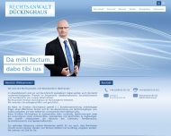 Bild Webseite Rechtsanwalt Christian Dückinghaus Oberhausen