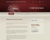 Website Rechtsanwalt Gregor H. Müller