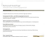 Bild Webseite Rechtsanwaltskanzlei Dr. JÜRGEN LANGOSCH - ARNE GLOGE Hamburg