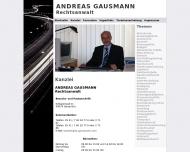 Website Nicolay Rüdiger Rechtsanwalt