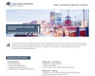 Bild Webseite Wichert Wolfgang Rechtsanwalt Hamburg