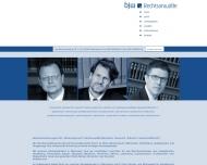 Website Rechtsanwalt Peter John Kanzlei Böckmann John Wiester