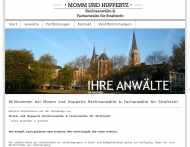 Bild Webseite Momm Herbert Rechtsanwalt Fachanwalt für Strafrecht Aachen