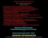 Bild Gössner Dr. Rolf