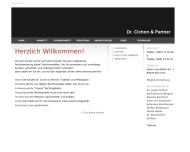 Website Cichon Josef Dr.,