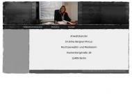 Bild Webseite Bergner-Pincus Erika Dr. Rechtsanwältin Berlin