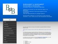 Bild Webseite Burghardt Dieter u. Rosemarie Rechtsanwaltskanzlei Berlin
