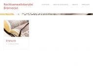 Bild Webseite Brennecke Burkhardt Rechtsanwalt Berlin