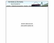 Bild Webseite Peters Regina u. Wolfgang Rechtsanwälte Köln