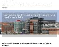 Bild Webseite Henf Dr. & Partner Rechtsanwälte Postfeld