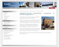 Bild Webseite Kanzlei Sass Hamburg