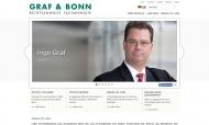Bild Webseite Graf & Bonn Rechtsanwälte Köln