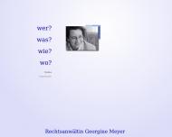 Bild Webseite Meyer Georgine Nürnberg