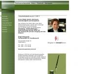 Bild Webseite Kleinspehn Birgit , Blidon Uwe , Radziwill Claus Rechtsanwälte Berlin