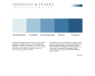 Bild Webseite Lehmann & Humke Leipzig