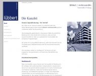 Bild Webseite Düsselberg Jörg Jörg , lübbert rechtsanwälte Freiburg im Breisgau