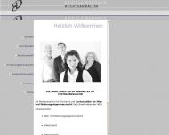 Bild Webseite Rechtsanwältin Anwaltskanzlei Burdack Daniela Nürnberg