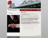 Bild Webseite Modschiedler Martin , Möller Uta Rechtsanwälte Dresden