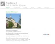 Bild Webseite Queißer & Partner Rechtsanwaltskanzlei Dresden