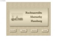 Bild Webseite Abernethy Manfred Hamburg