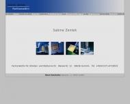 Bild Webseite Zentek Sabine Rechtsanwältin Dortmund