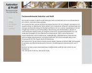 Website Antretter Stefan Rechtsanwalt