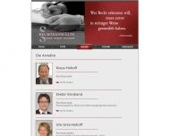 Website Hohoff + Stroband Anwaltskanzlei