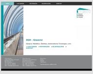 Bild Webseite DGH Glaserei Dachau