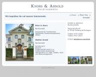 Bild Webseite Dr.E. Morgenroth, H. Heublein,P. Knors u. W. Arnold Freiburg im Breisgau